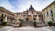 Dreiklang aus Kirche, Kloster, Konditorei: Santa Caterina in Palermo.
