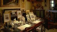 Hausfrau, Mutter – und Staatsoberhaupt: Schreibtisch der Queen im Osborne House auf der Isle of Wight.