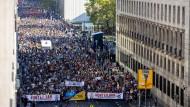 """Mehr als gedacht: Die """"Unteilbar""""-Demonstration in Berlin im Oktober 2018"""