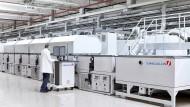 Exportschlager: Maschine von Singulus zum Bau von Dünnschicht-Solarmodulen