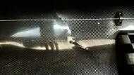 Das deutsche Paradeboot, der Kajakvierer, wurde beim Transport zerstört.