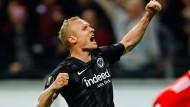 Anführer: Sebastian Rode ist einer der wichtigsten Spieler von Eintracht Frankfurt.