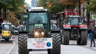 Seit Wochen protestieren Bauern gegen das Agrarpaket von Julia Klöckner – so auch Ende Oktober in Hamburg.