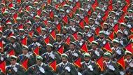 Nicht nur für das Militärische zuständig: Irans Revolutionswächter