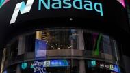 Die amerikanische Nasdaq Technologiebörse Nasdaq