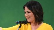 Klare Worte gegen den Wirtschaftsminister: Grünen-Chefin Annalena Baerbock