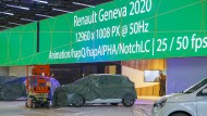 Wird wohl unfertig bleiben: Verhüllte Autos stehen in Vorbereitungen für den 90. Genfer Autosalon (GIMS) im Palexpo.