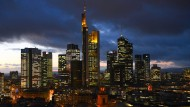 Lahmen ihren amerikanischen Konkurrenten hinterher: Banken in Frankfurt
