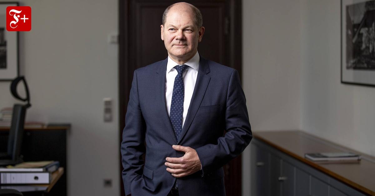 """Olaf scholz (spd) aber hat glück, wie der jüngste monatsbericht seines ministeriums zeigt. Olaf Scholz im Interview zu Coronakrise: """"Unser Land kann ..."""