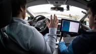 Autonomes Fahren: Noch ist das Rennen um das Auto der Zukunft offen