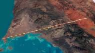 """Saudi-Arabien beginnt mit Bau der Idealstadt """"The Line"""""""