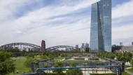 Die EZB in Frankfurt