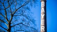 Bayer-Schornstein in Leverkusen