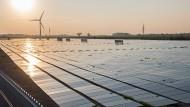 Solaranlage im niedersächsischen Stedebergen