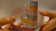 Elemente anders ordnen: Konkurrenz für das Periodensystem