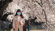 Die Kirschblüte kündet stellenweise vom Frühling. Kann der Wetterumschwung helfen im Kampf gegen steigende Infektionszahlen?