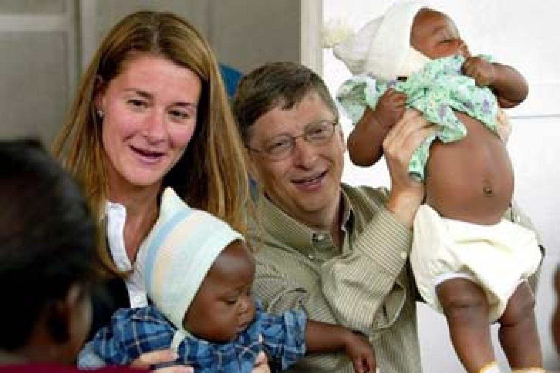 Bill Melinda Gates Stiftung Gute Samariter Netzwirtschaft Faz