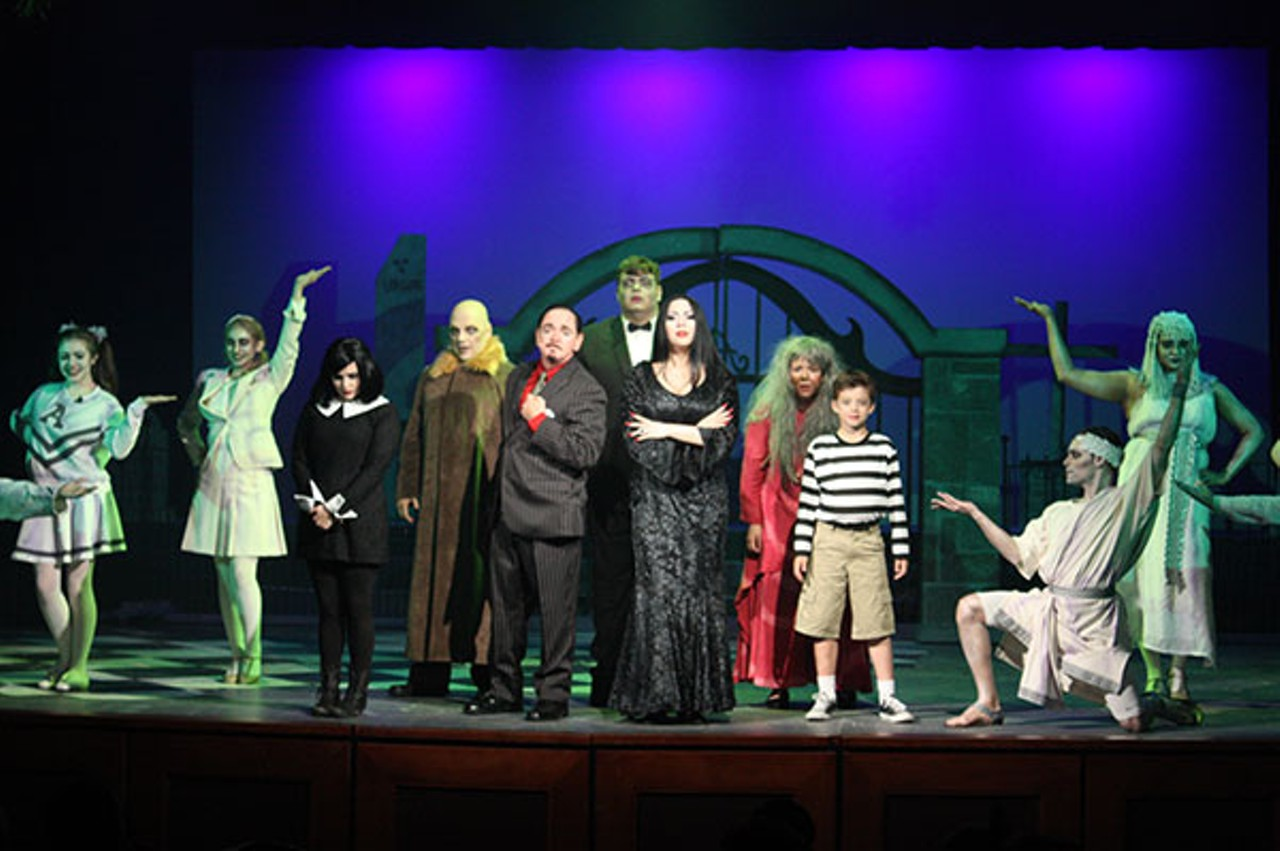The Addams Family runs through May 29 at Theatre Charlotte.