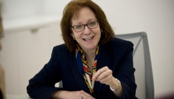 43rd Ward alderman Michele Smith, fighting hard for reelection