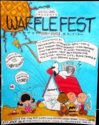 A great Waffle Fest poster or the greatest Waffle Fest poster?