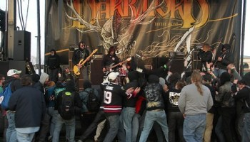 A shot from Eyehategods set at last years Dark Lord Day