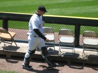 A.J. Pierzynski wasnt trudging when he hit an inside-the-park homer Friday night.
