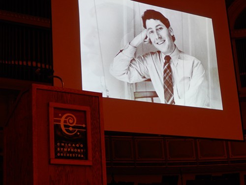 Andrew Patner, remembered at Orchestra Hall