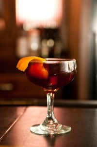 Composed by Bradley Bolt, this Blind of Eye cocktail is a far, far classier version of the recipes contained herein