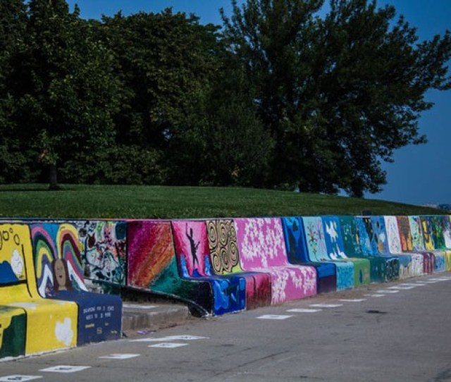 Cop A Squat On A Piece Of Art At The Loyola Beach Sea Bench