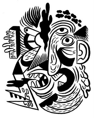 Facial Abstraction by Jeremy Onsmith