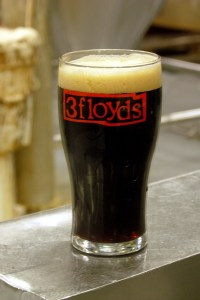 Immutable Dusk black IPA, straight from the bright tank in Munster