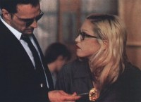 James Russo and Madonna in Dangerous Game