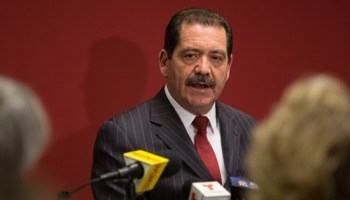Mayoral challenger Jesus Chuy Garcia tells skeptical reporters that he really does have a financial plan for the city.