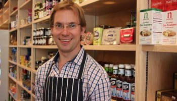 Nick Spencer at Spencers Jolly Posh Foods