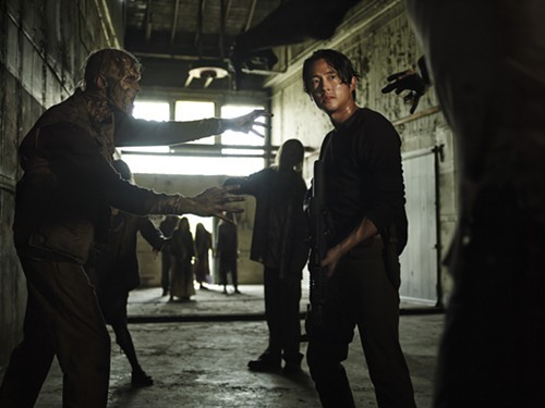 Our zombie friends and alive friends are back on The Walking Dead.