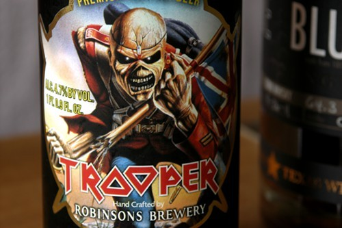 Some people are definitely buying this beer for the label.