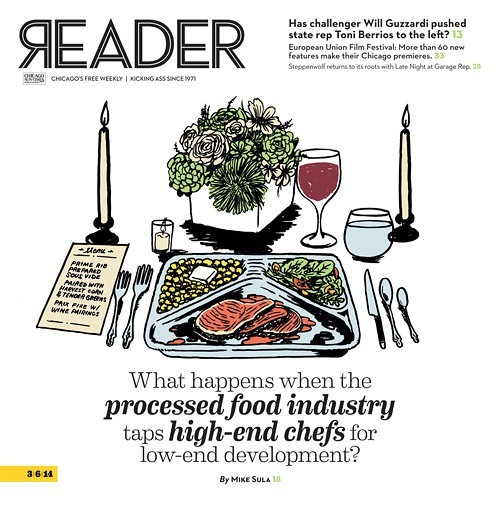 Mike Sulas cover story from March 6, 2014 took home first place for food writing.