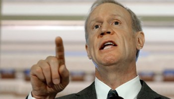 Governor Bruce Rauner says his administration is even more transparent than is required by law.