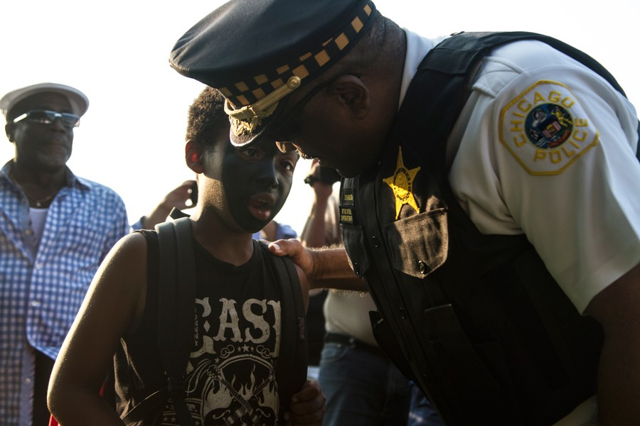 """Johnson and other CPD officials have said that going forward, community policing will no longer be an """"alternative"""" strategy, but rather the department's guiding philosophy. - MARIA CARDONA"""