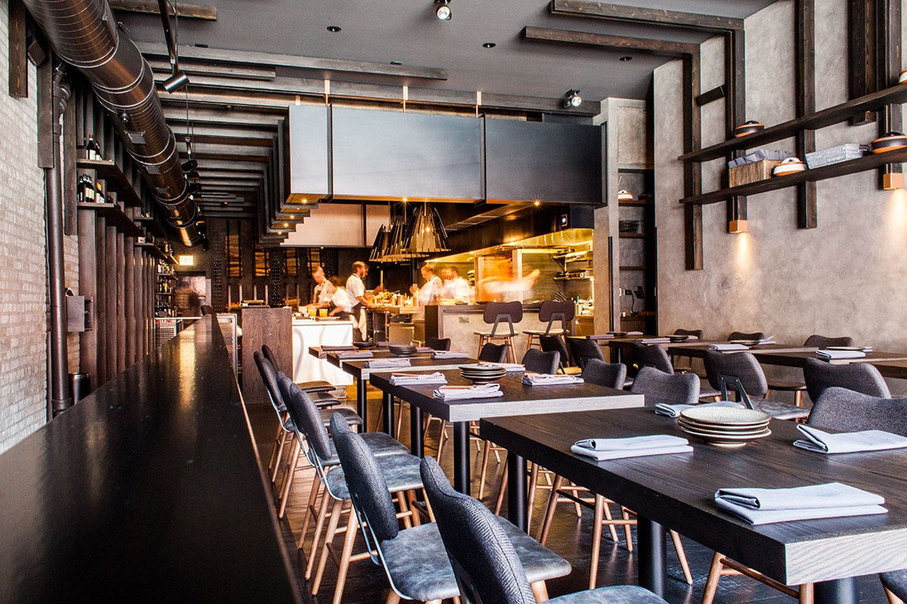 Roister The Alinea Group S Casual Spot Is Jaw Dropping Restaurant Review Chicago Reader