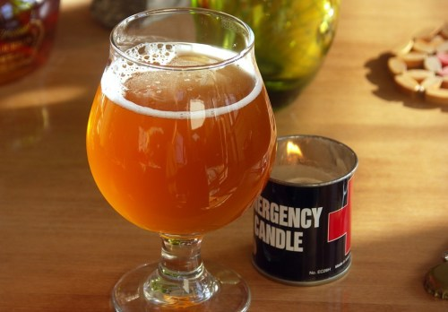 When youre drinking an Alarmist beer, better break out the emergency candle.
