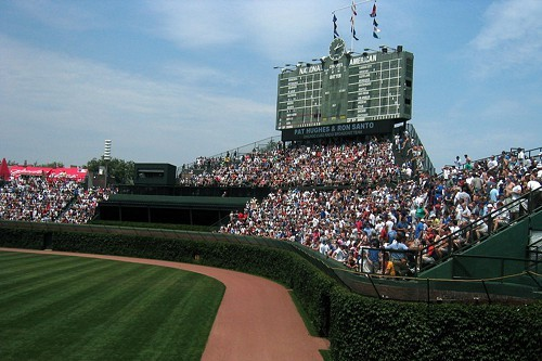 Wrigley Field: for the past 100 years, a great place to suffer.