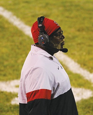"""Roy Gully coaches varsity football at Springfield High School. He's part of a """"Grow Your Own"""" - committee that's looking at ways to hire more diverse teachers in the district. - PHOTO BY BRANDY FLETCHER, COURTESY OF ROY GULLY"""