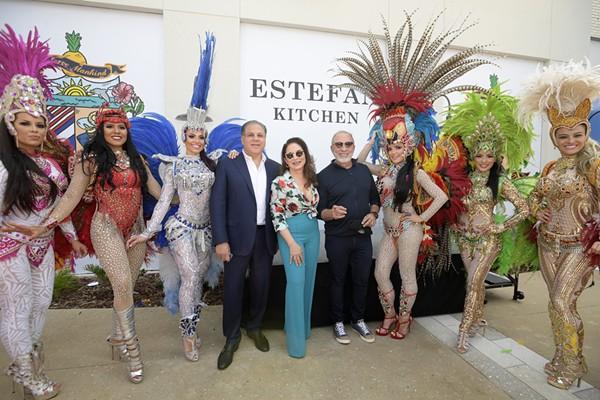 Gloria And Emilio Estefan Are Opening A Restaurant At