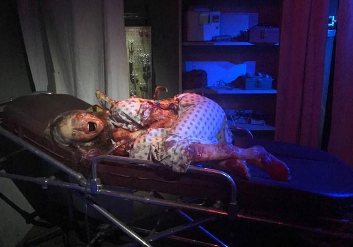A victim of The Breach at Sanctum of Horror in Mesa. - AJ EISAN