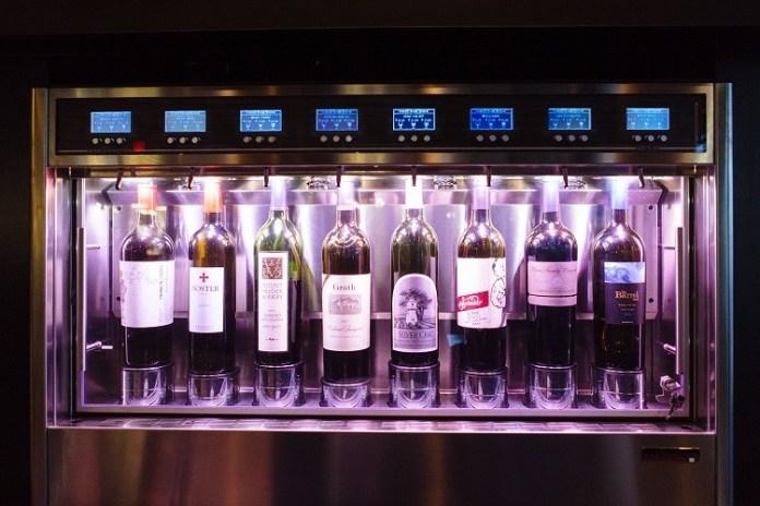 Sorso Wine Room in Scottsdale. - GRACE STUFKOSKY