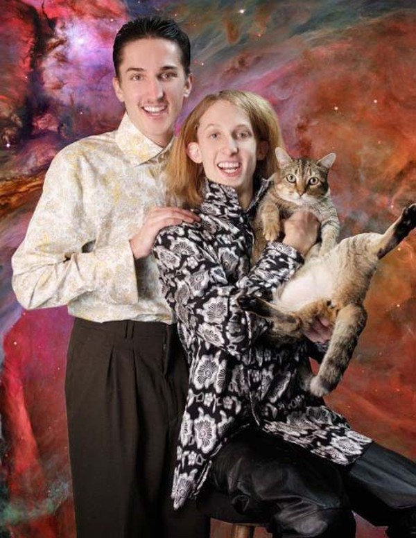 Cat In Space Meet The Two Amazingly Awkward Brothers