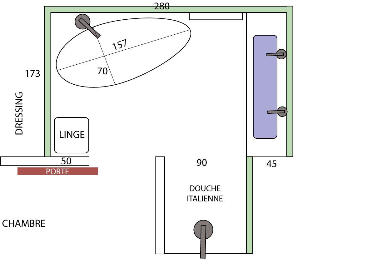 Salle De Bain Dans 4 8m2 Douche Baignoire Possible 19 Messages