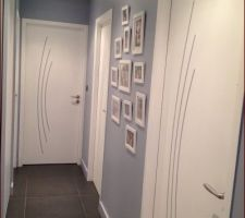 Deco Couloir Gris | Unixpaint