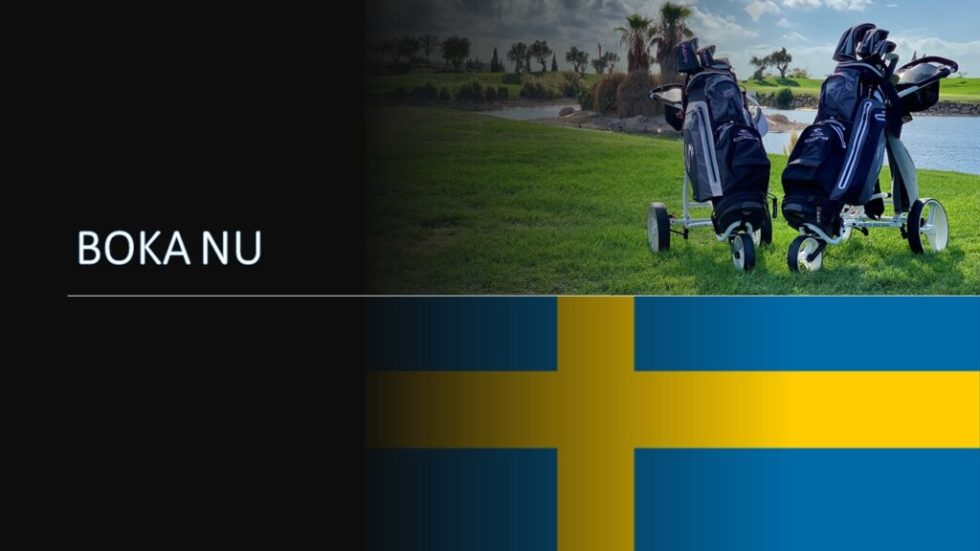 Noleggia l'attrezzatura da golf in Svezia Prenota ora
